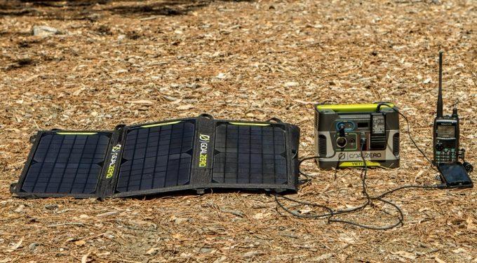 solar charging radio