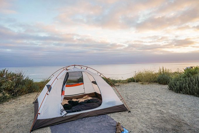 camping tent dome for 4 persons