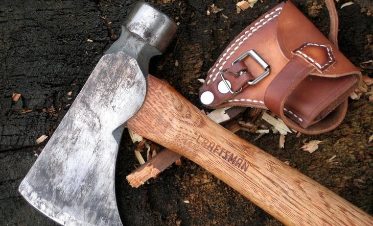 Image of a Craftsman camping hatchet