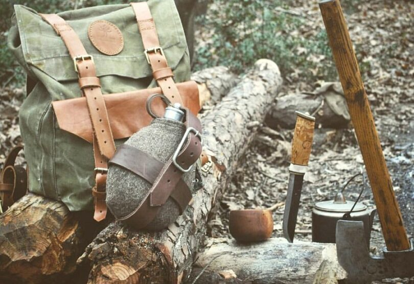 Backpacking knife