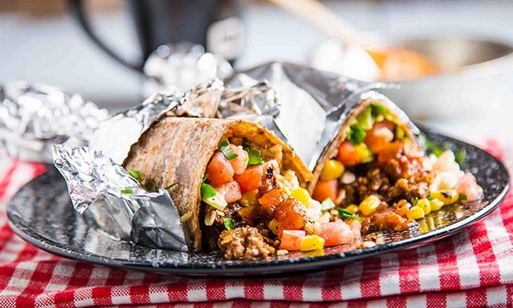 Campfire Breakfast-Burrito