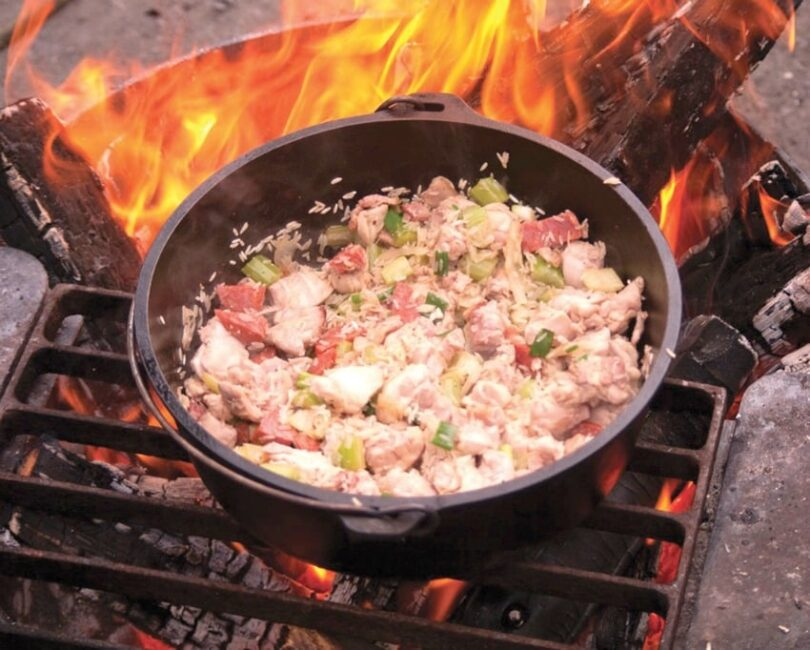 Camping Easy paella