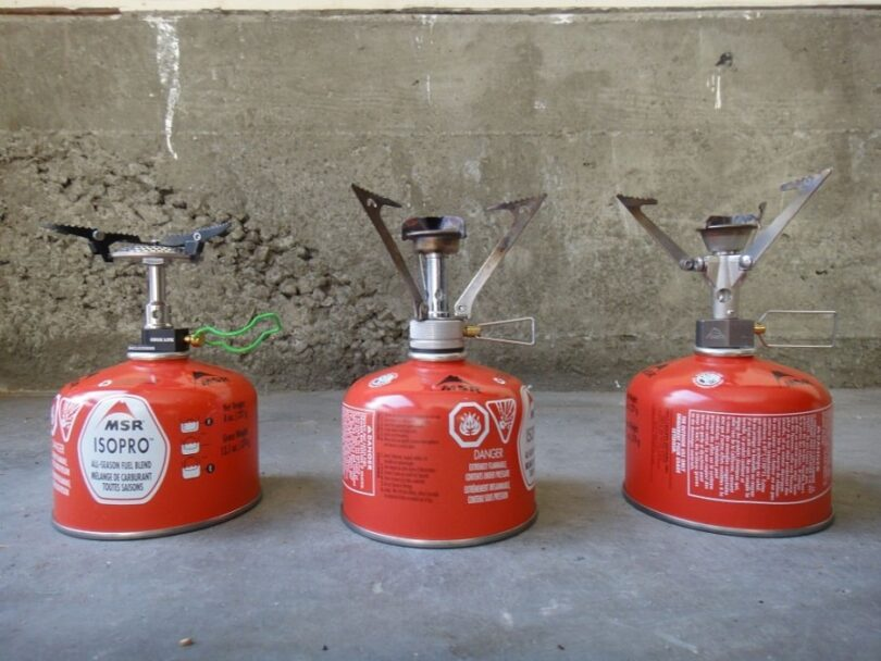 Canister stoves for hiking