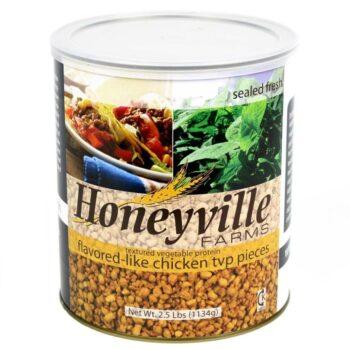 Chicken Flavored Textured Vegetable Protein