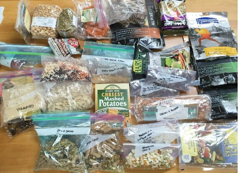 Dehydrated food for survival