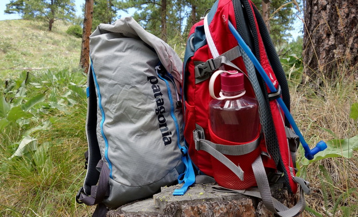 Deuter's Speedlite (right) and Ascensionist (left) daypacks
