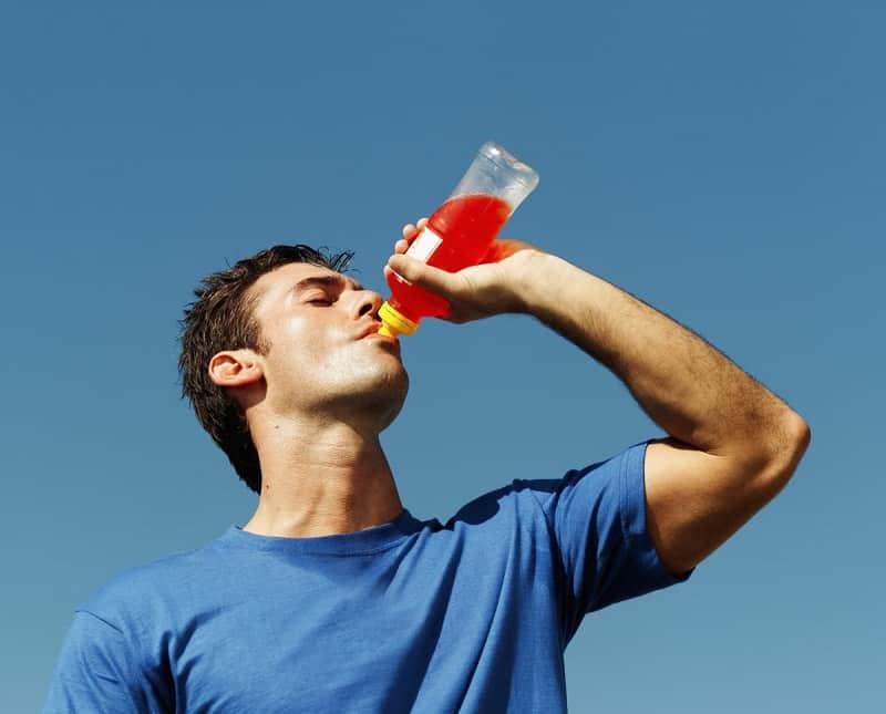 Drink sports drinks