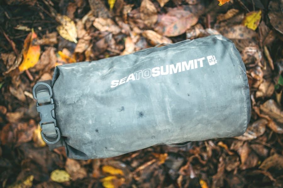 Dry bag features