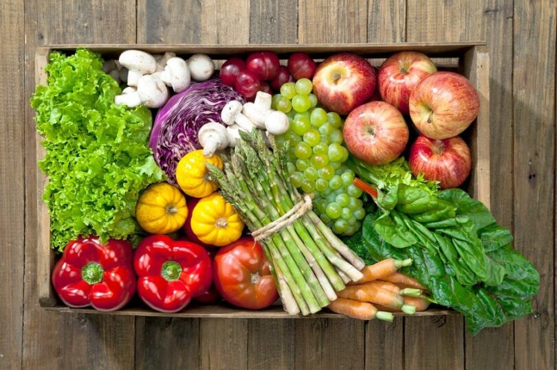 Eat a lot of vegetables and fruits