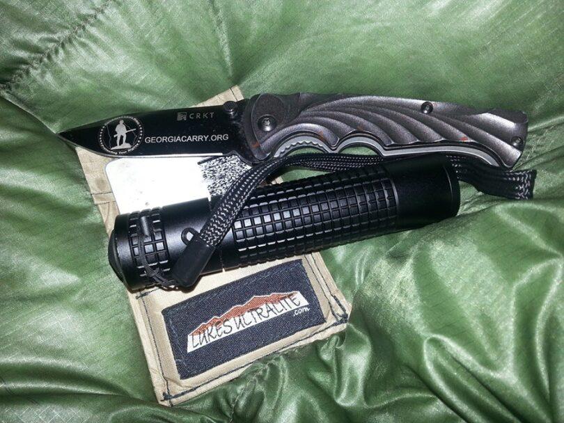 FlashLight and knife