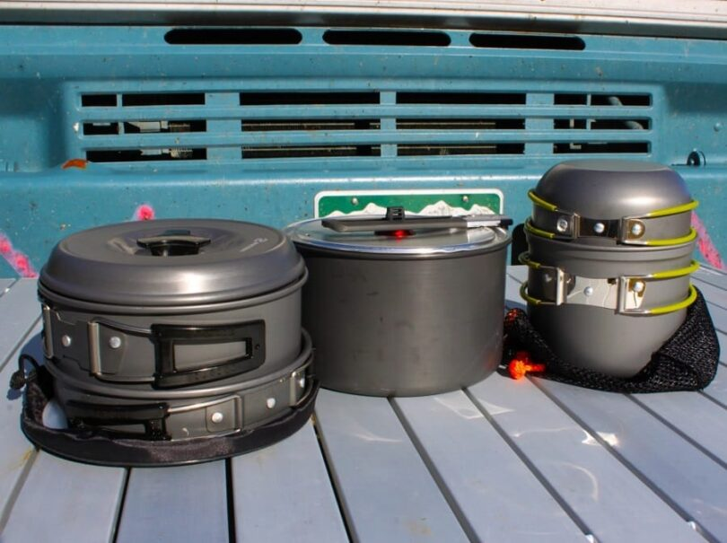 Hiking Cookware Materials