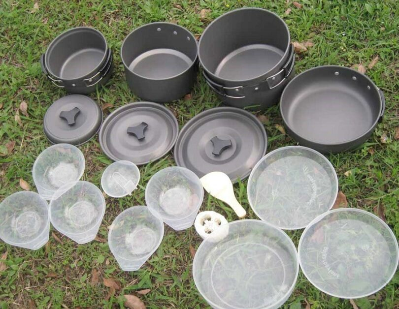 Hiking Cookware features