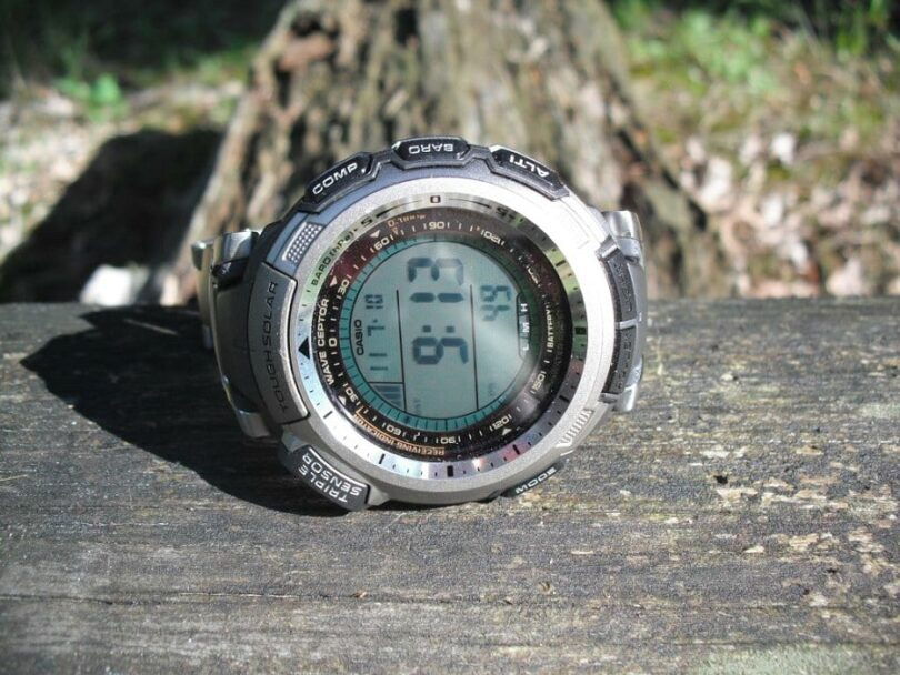 Hiking watch features