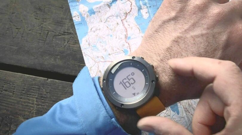 Hiking watches GPS