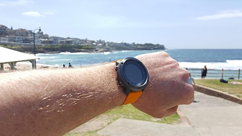 Hiking watches size
