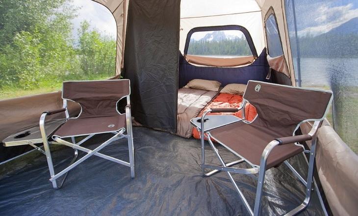 Internal-Organization of a tent