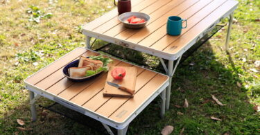 NT-BT03 bamboo table for camping