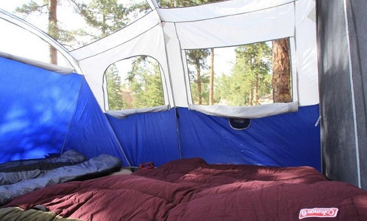 Ventilation of a tent