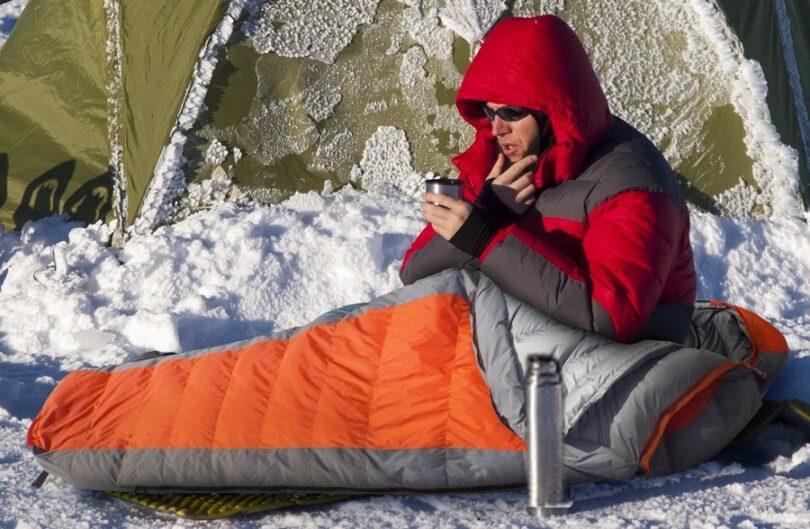 Teton 0-degree mummy sleeping bag