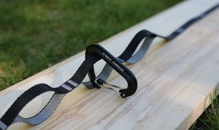 The Ultimate Strap for every hammock laying down on a wooden