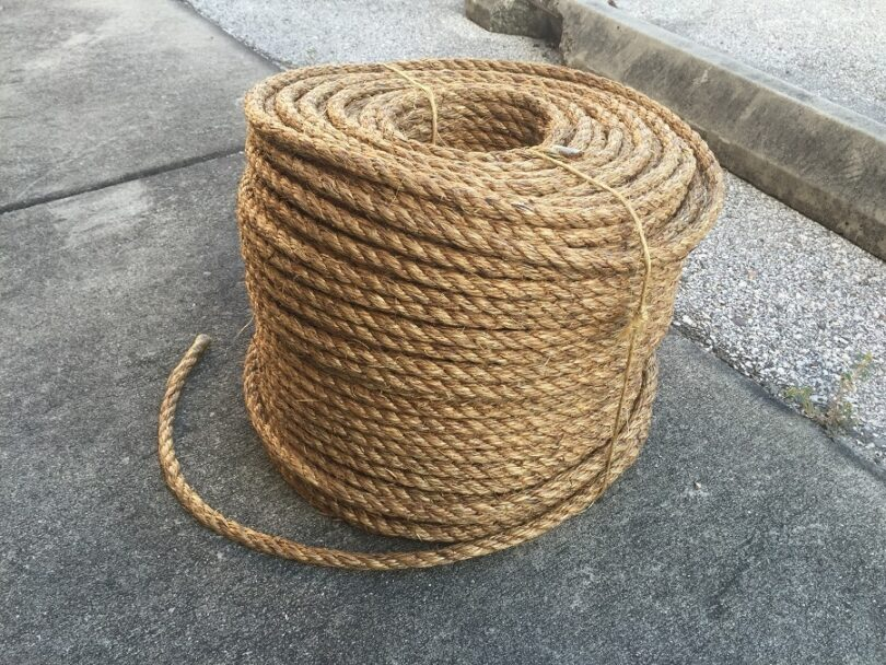 Twisted Laid Rope