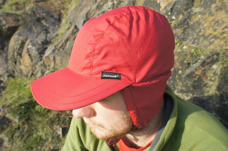Waterproof hiking cap