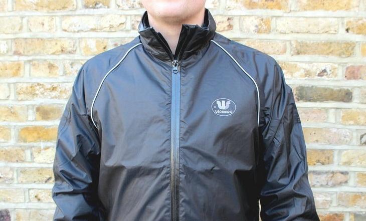 Image showing a man wearing a waterproof jacket