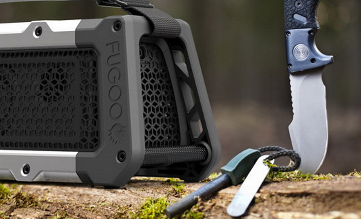 Image of camping gadgets