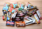 Some of the best energy bars at one place on a table