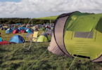 The Cinch Pop-Up Tent and a festival