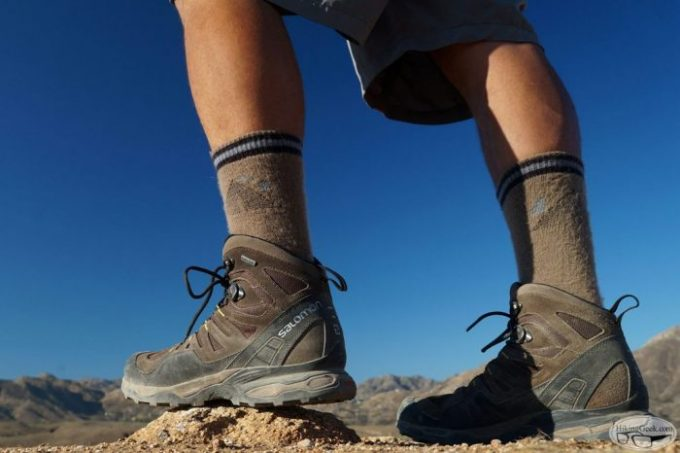short hiking socks
