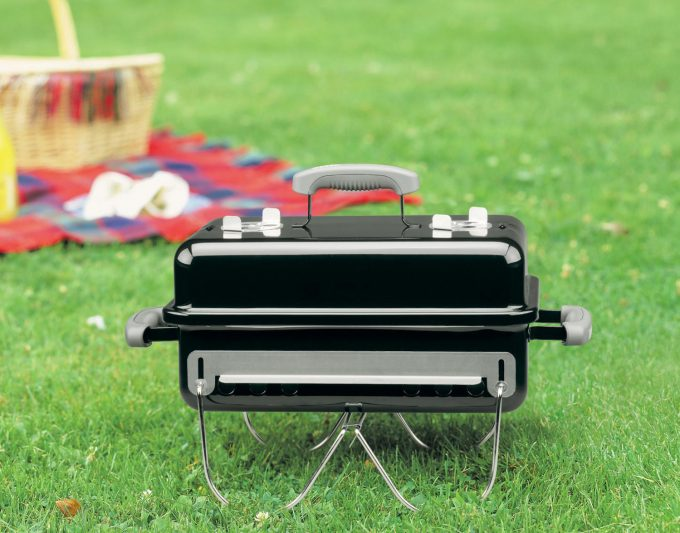 weber charcoal portable grill