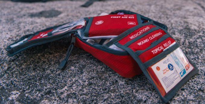 well organized first aid