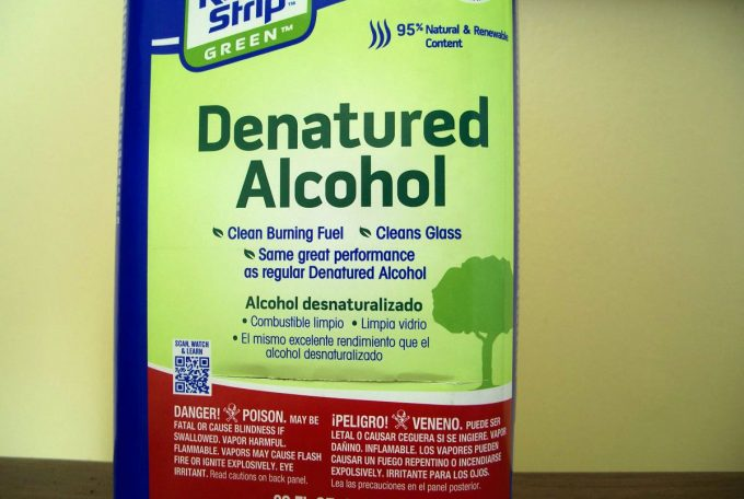 green denatured fuel