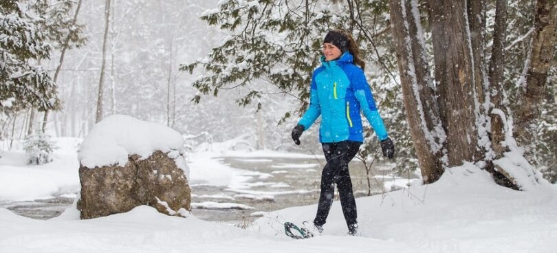 Gender-specific snowshoes