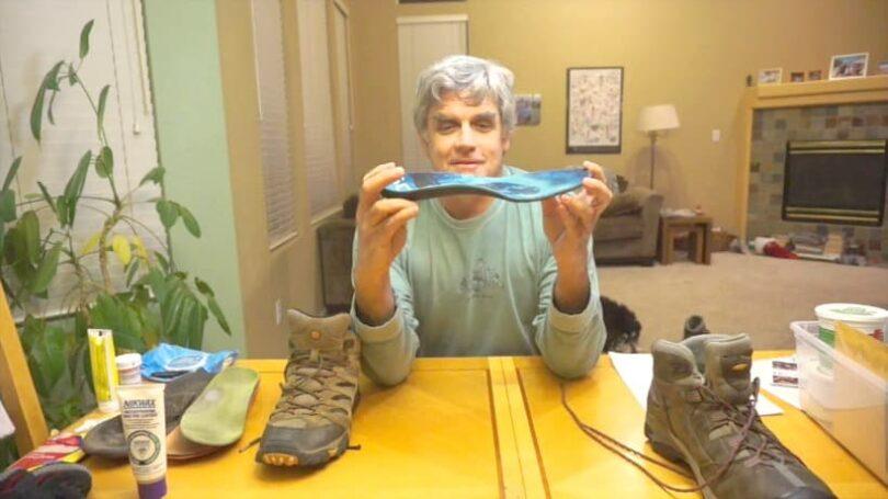 Preventing a blister