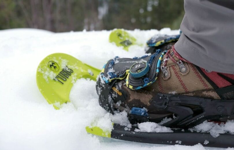 Recreational snowshoes