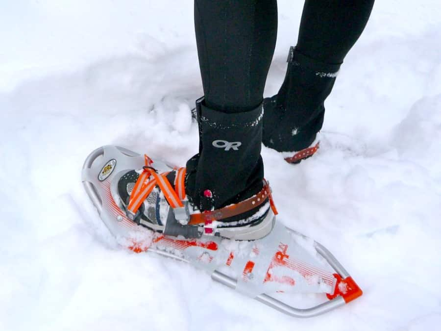 Running snowshoes
