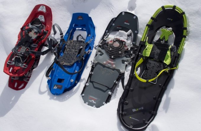 Image showing different types of Snowshoes For Trails and Deep Snow