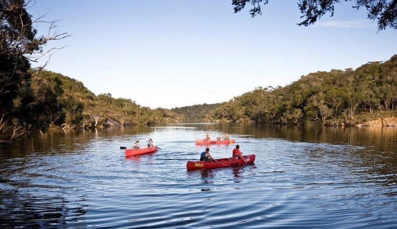 Stability of canoe