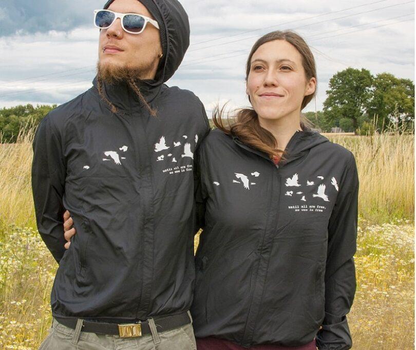 Windbreaker jacket features