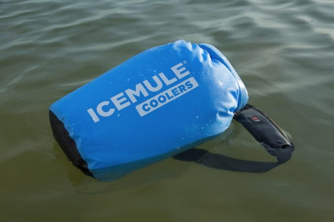 cooler bag floating