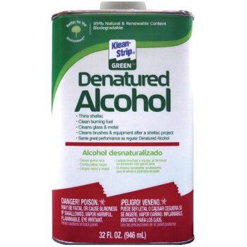 klean strip green denatured alcohol