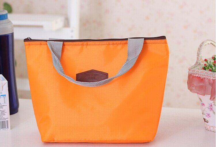 orange cooler bag