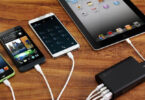 powerbank charging several devices