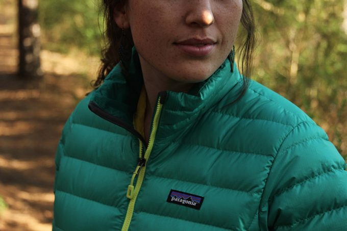 woman winter syntethic jacket