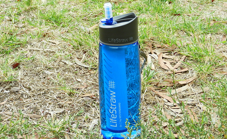 LifeStraw Go Great Water Bottle for Hiking