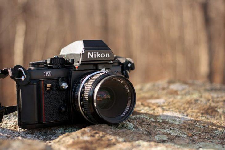 Nikon F3HP camera