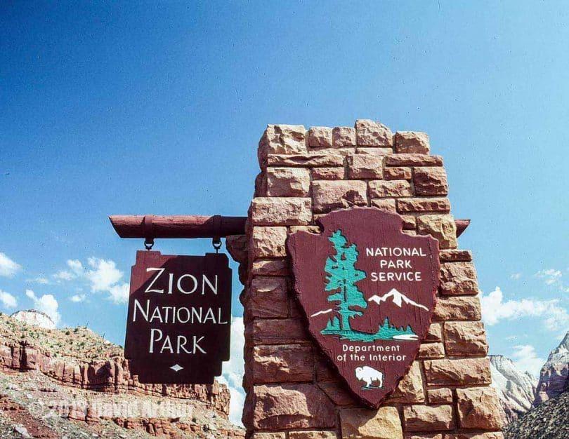 Zion National Park management