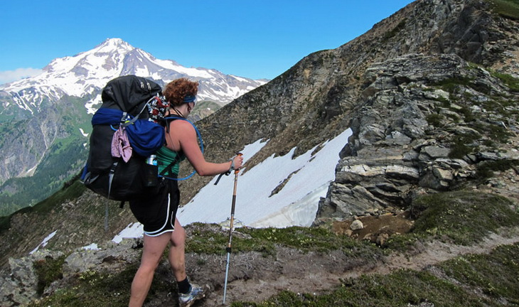 Backpacking on White Mountain, Glacier Peak Wilderness